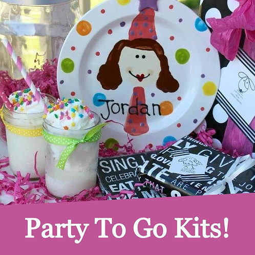 Party to go Kit (refundable deposit)