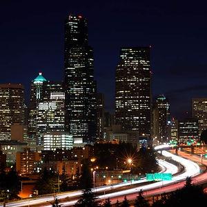 도시의 야경