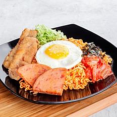 Dry Kimchi Ramyeon