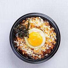 Cheese Kimchi Fried Rice (Pork/Beef)