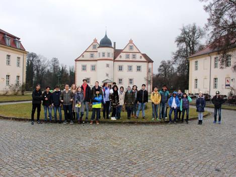 vor der historischen Fahrt nach Potsdam