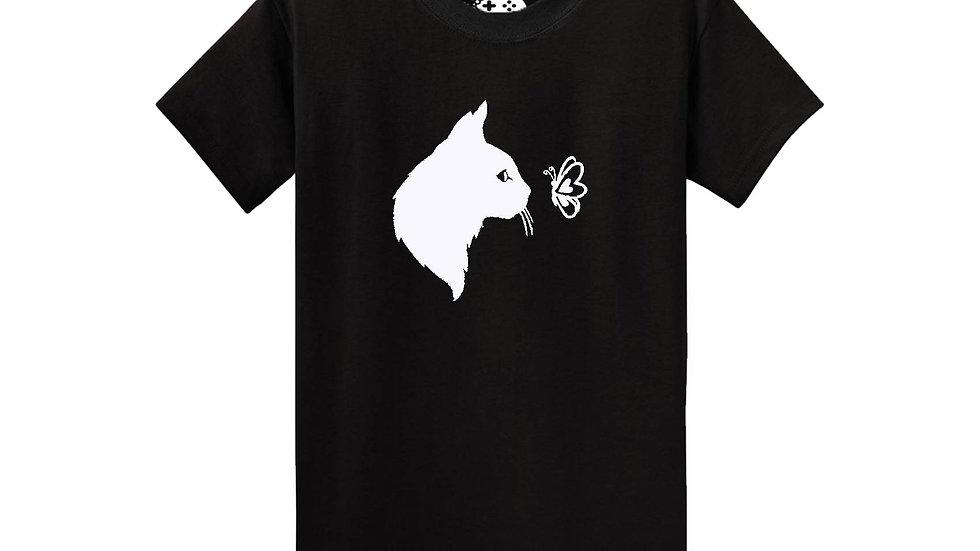 Butterfly Cat T-Shirt
