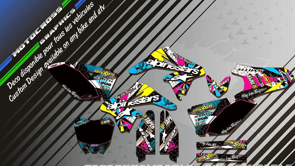 """ALPINESTARS CA4A"" Graphic kit SUZUKI RMz 250"