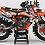 """Thumbnail: Kit Deco Perso """"ALPINESTARS KA4F"""" orange"""