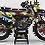 """Thumbnail: Kit Deco Perso """"ROCKSTAR Energy KA16A"""" rouge"""