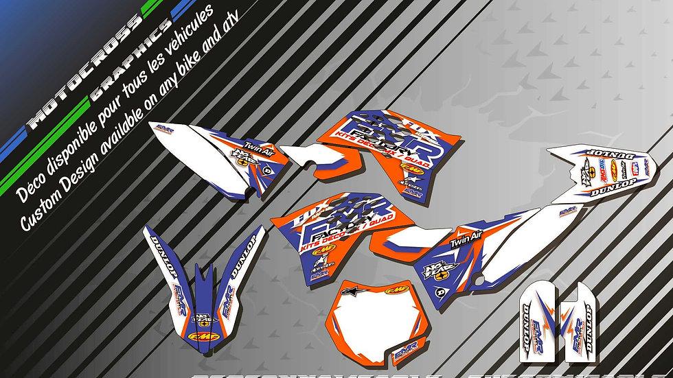 """""""Fmr Factory KA13C"""" Kit Déco Perso 65 SX 01-17"""