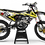 Thumbnail: Kit Déco Perso yamaha FACTORY ENERGY KA33E4 jaune
