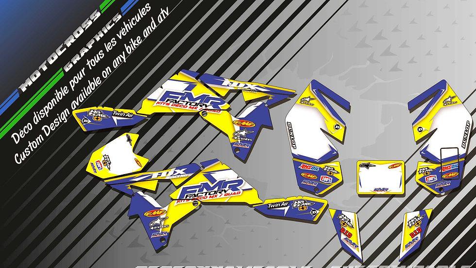 """""""Fmr Factory KA13D"""" Kit Déco Perso 450 LTR 06-16"""