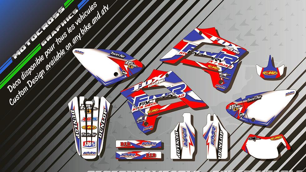 """Fmr Factory CA13A"" Graphic kit GASGAS EC Series"