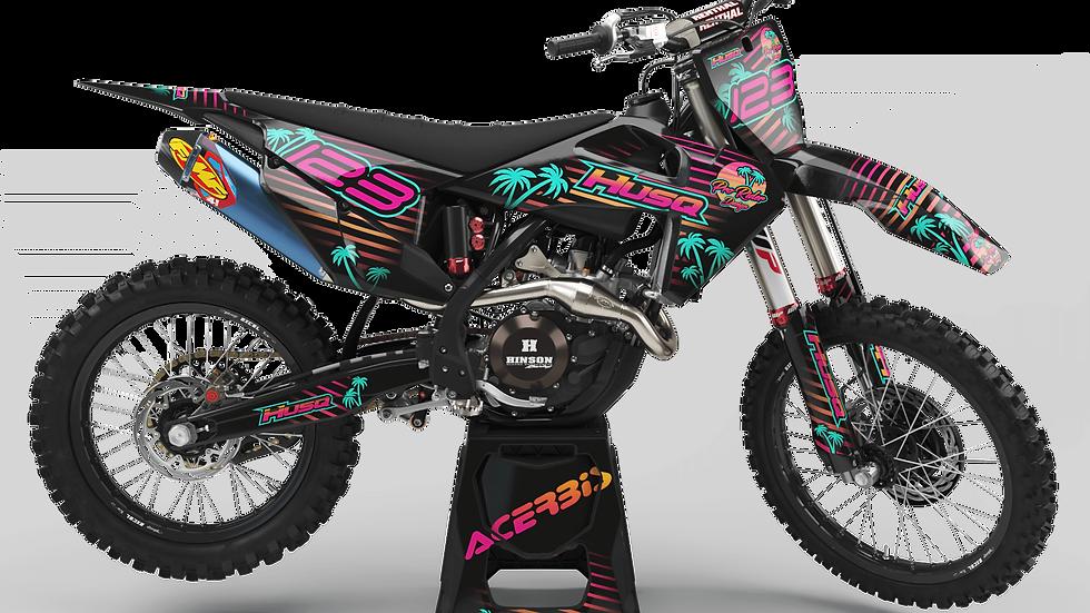 Custom dirt bike Graphics kit Husqvarna DREAM