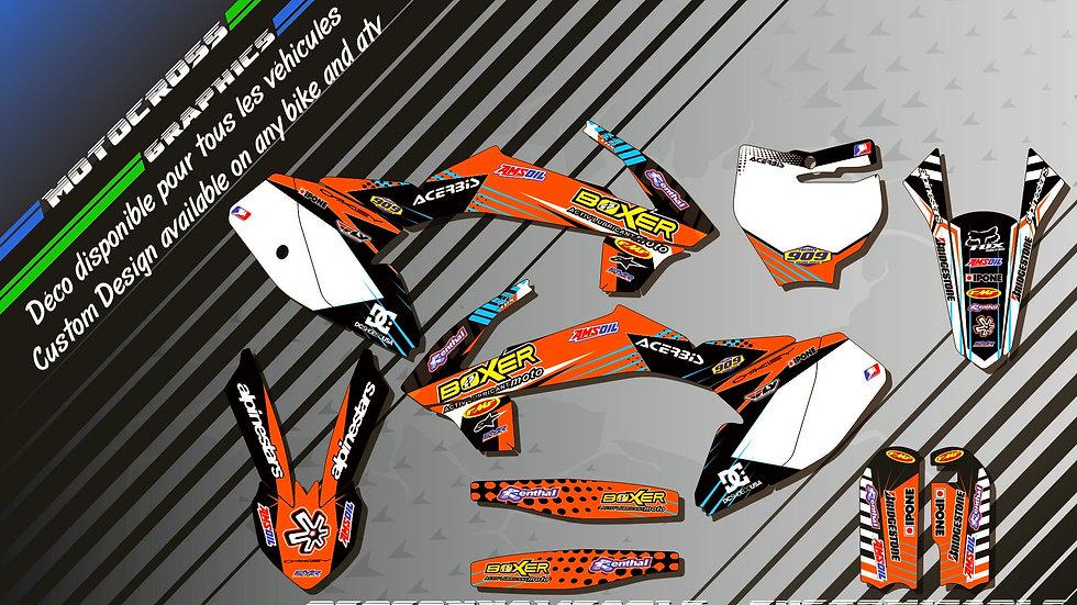 """BOXER KA1C"" Kit Déco Perso 65 SX 01-17"