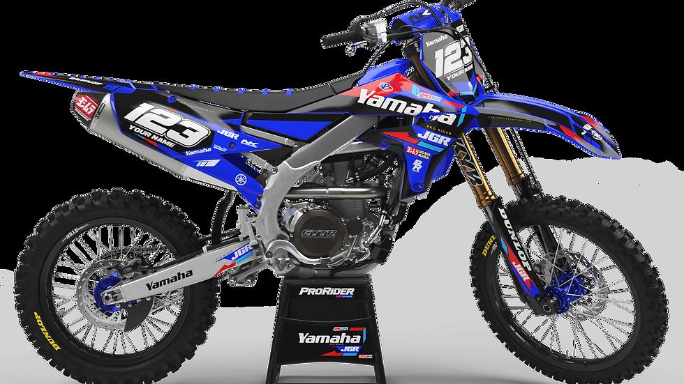 Custom dirt bike Graphics kit yamaha YAMAHA JGR
