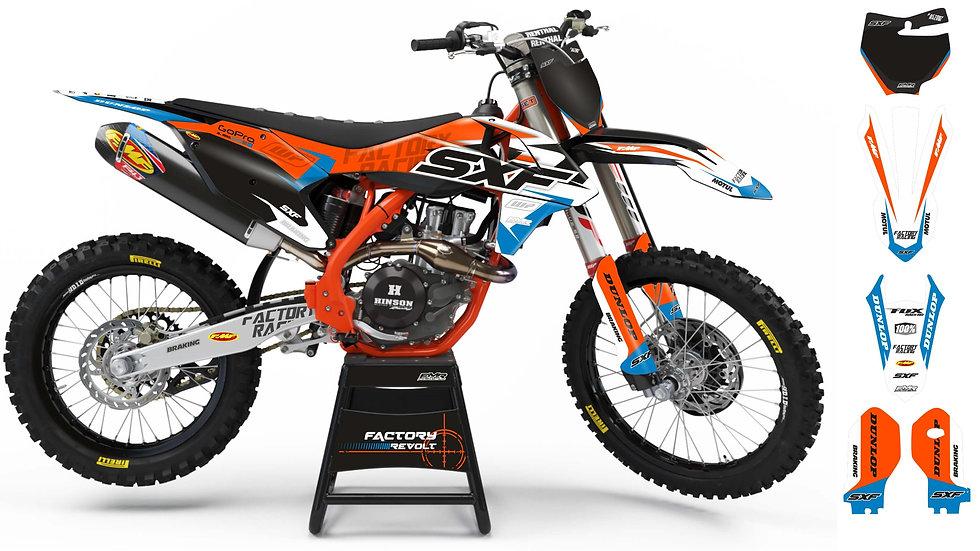 Graphics kits KTM FACTORY REVOLT A26C4