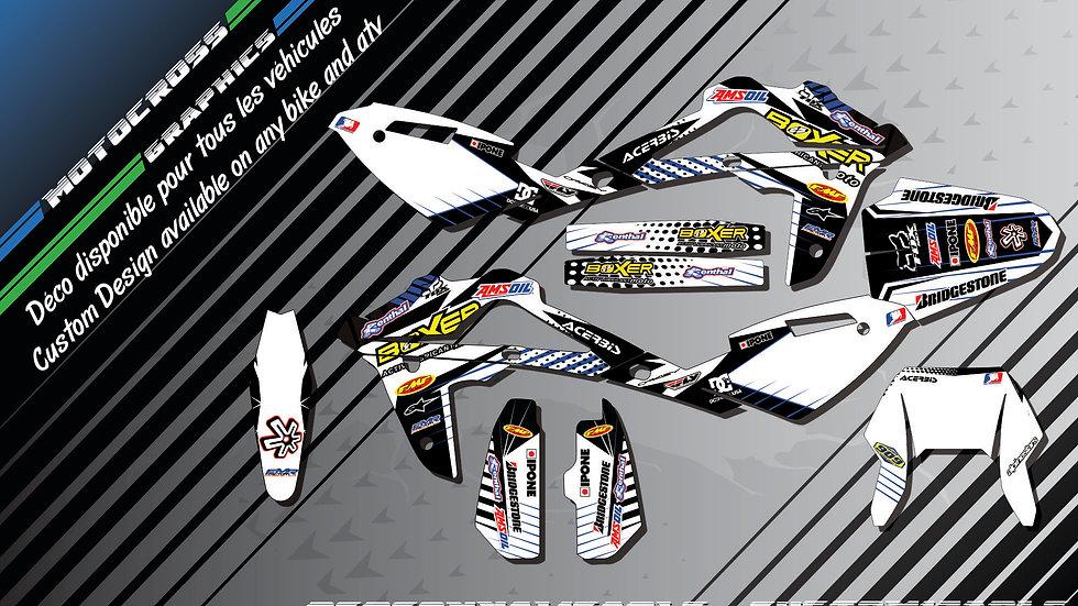 """BOXER  CA1G"" Graphic kit SM/SMR 450 510 530"