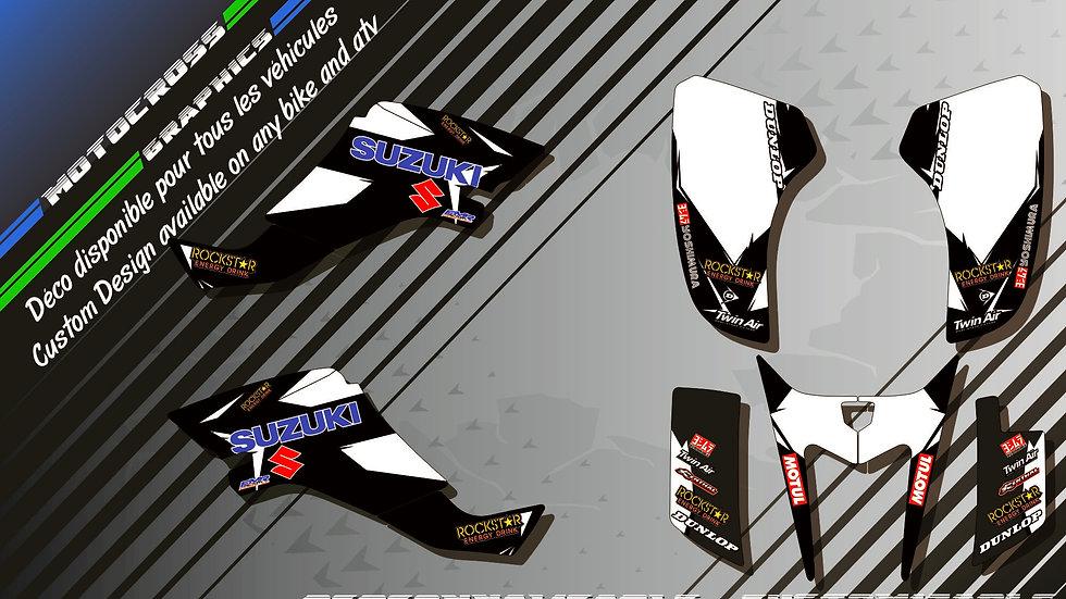 """Factory Black Edition KA10DB"" Kit Déco Perso 400 LTZ 03-12"