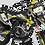 Thumbnail: Kit Deco Perso ROCKSTAR Édition Limitée KA19G jaune/bleu/rose
