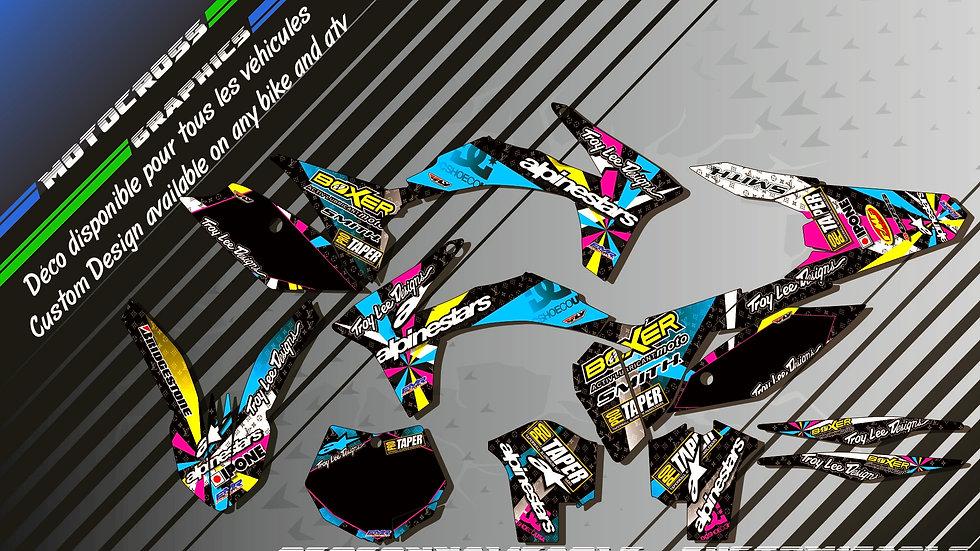 """ALPINESTARS KA4A"" Kit Déco Perso SX SXF 98-17"