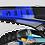 Thumbnail: Kit Déco Perso yamaha FACTORY Neken noir/bleu KA32E
