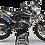 Thumbnail: Custom dirt bike Graphics kit Husqvarna MOTUL BLACK and WHITE