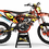 "Thumbnail: Kit Deco Perso ""ROCKSTAR Energy KA16C"" orange"