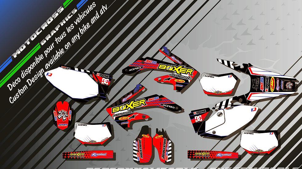 """BOXER KA1A"" Kit Déco Perso CRF 450X 05-16"