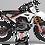 Thumbnail: Custom dirt bike Graphics kit HONDA EVS  BLACK AND WHITE