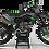 Thumbnail: Custom dirt bike Graphics kit KAWASAKI VERTEX BLACK CA39B1