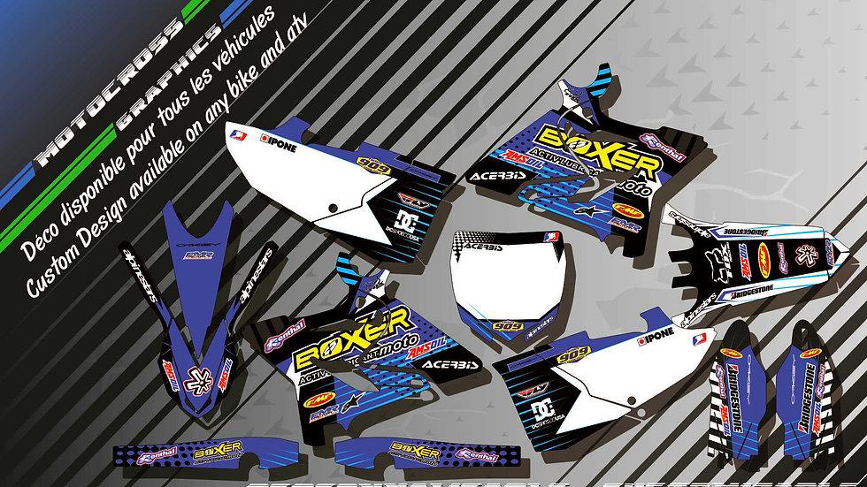 """BOXER CA1E"" Graphic kit YAMAHA 125 & 250 YZ 93-17"