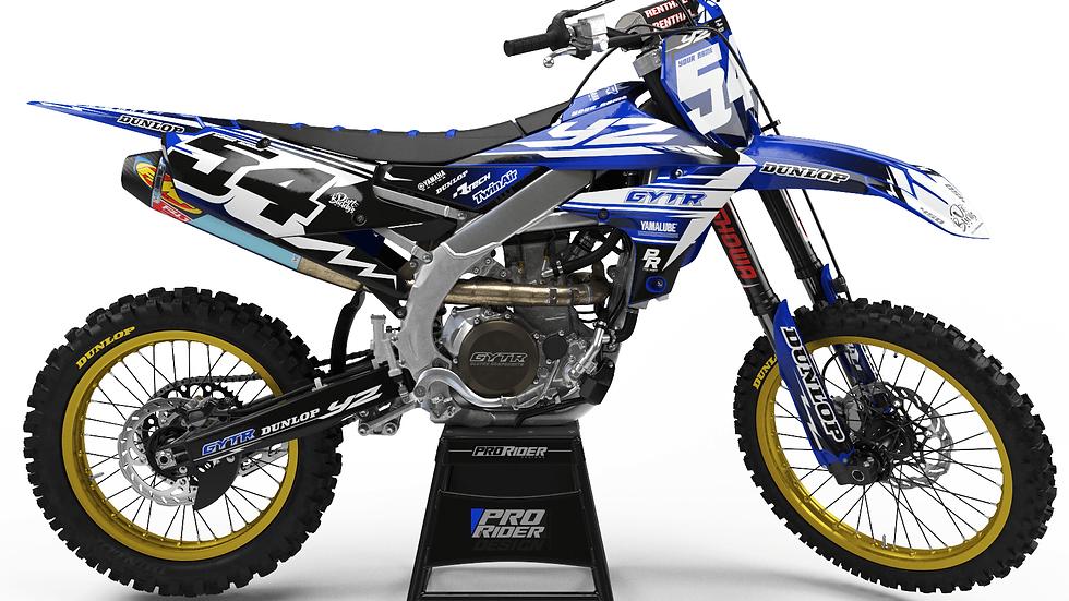 Custom dirt bike Graphics kit yamaha GYTR DIRT BUDDY'S