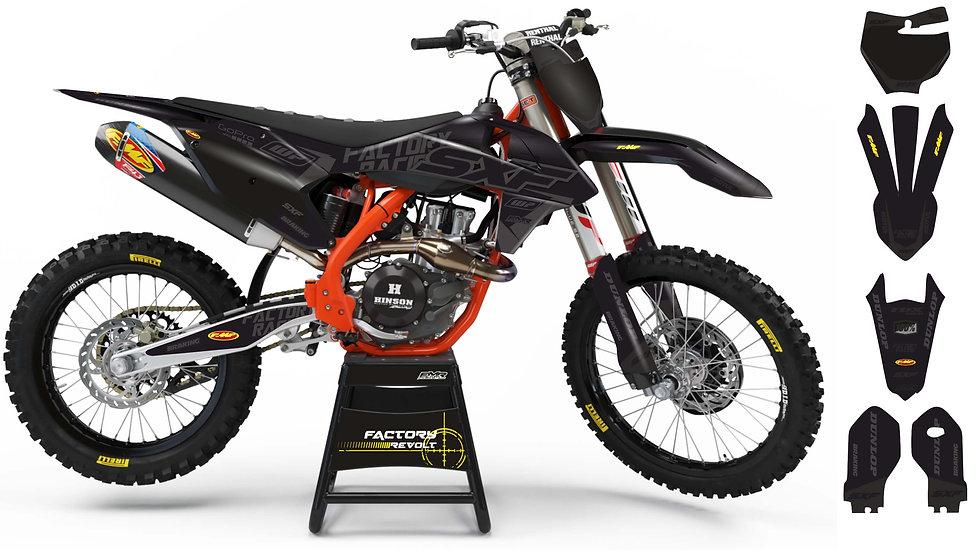 Graphics kits KTM FACTORY REVOLT A26C8