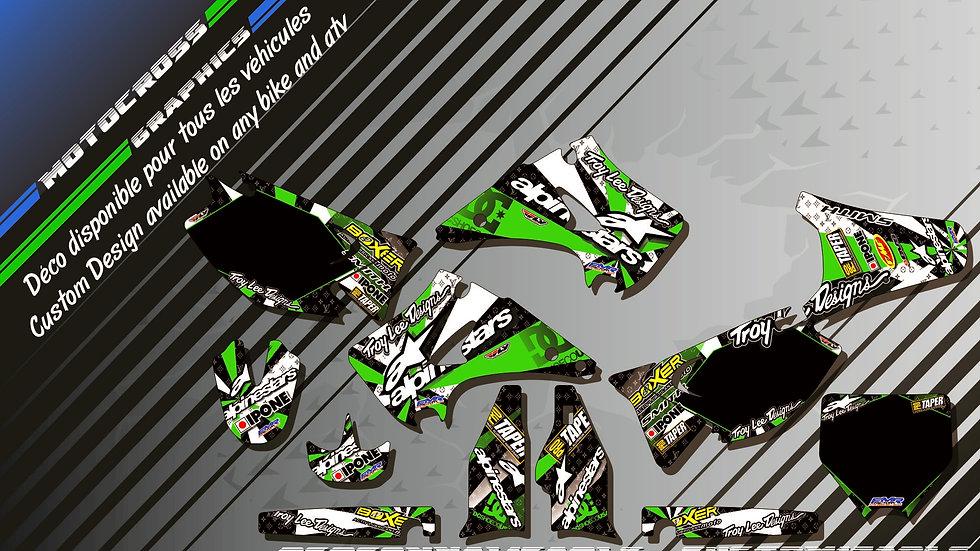 """""""ALPINESTARS KA4B"""" Kit Déco Perso KX 125 & 250 90-08"""