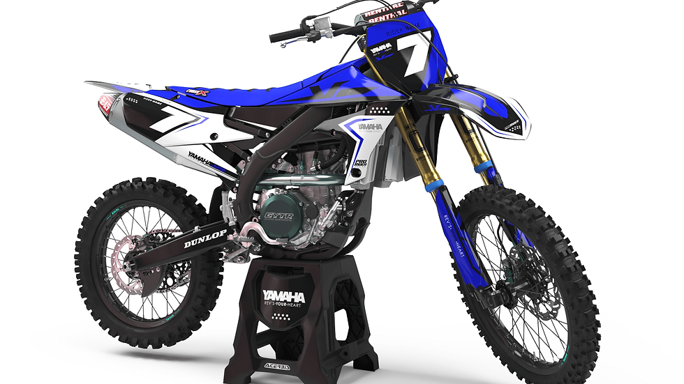 Custom dirt bike Graphics kit yamaha REV'S YOUR HEART