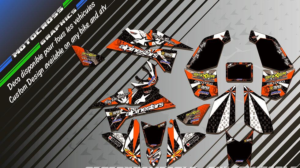 """ALPINESTARS KA4F"" Kit Déco Perso 450-525 EXC XC SX"