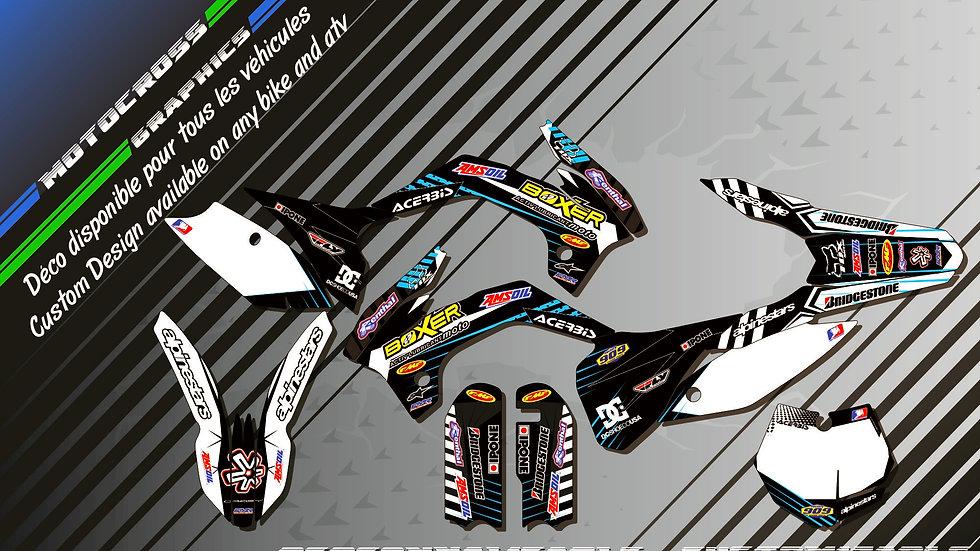 """""""BOXER KA1H"""" Kit Déco Perso 85 & 105 SX 06-18"""