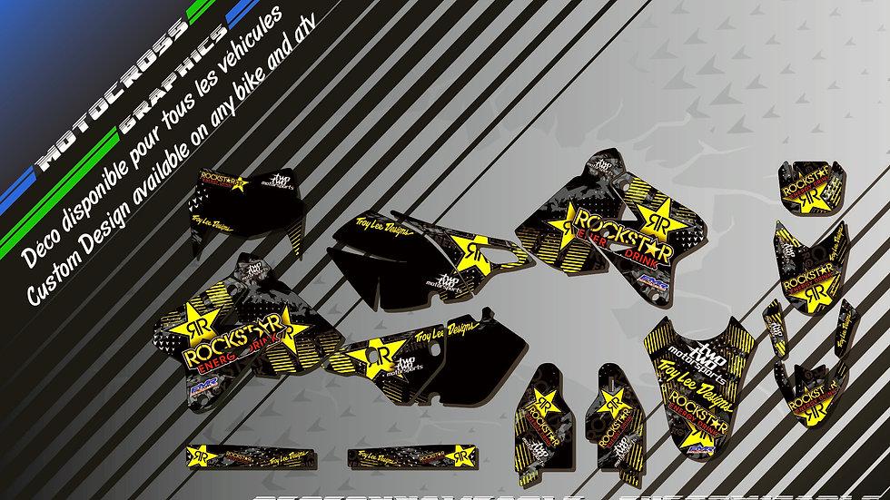 """""""ROCKSTAR Energy CA16D"""" Graphic kit SUZUKI DRz 400"""
