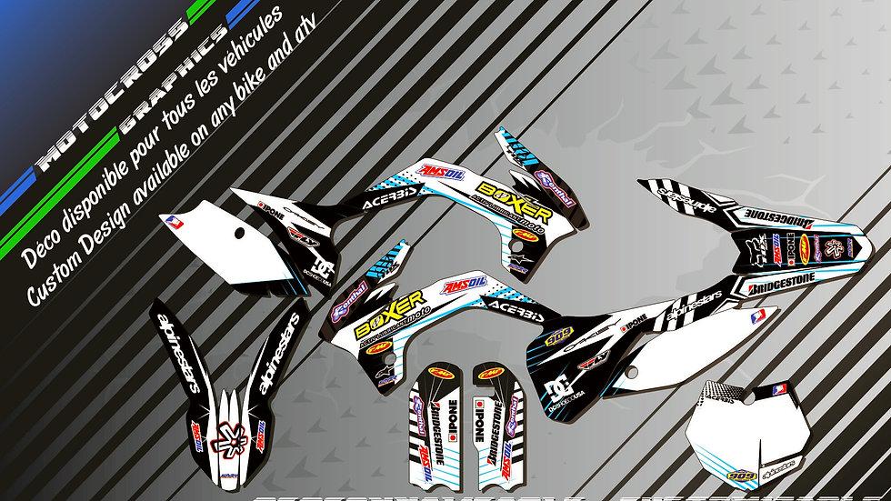 """""""BOXER KA1G"""" Kit Déco Perso 85 & 105 SX 06-18"""