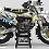 """Thumbnail: Kit Deco Perso """"DC B&W KA15D"""" jaune"""