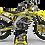 Thumbnail: Custom dirt bike Graphics kit SUZUKI JUST1 YELLOW