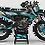 Thumbnail: Custom dirt bike Graphics kit PRO RIDER DESIGN CA34X