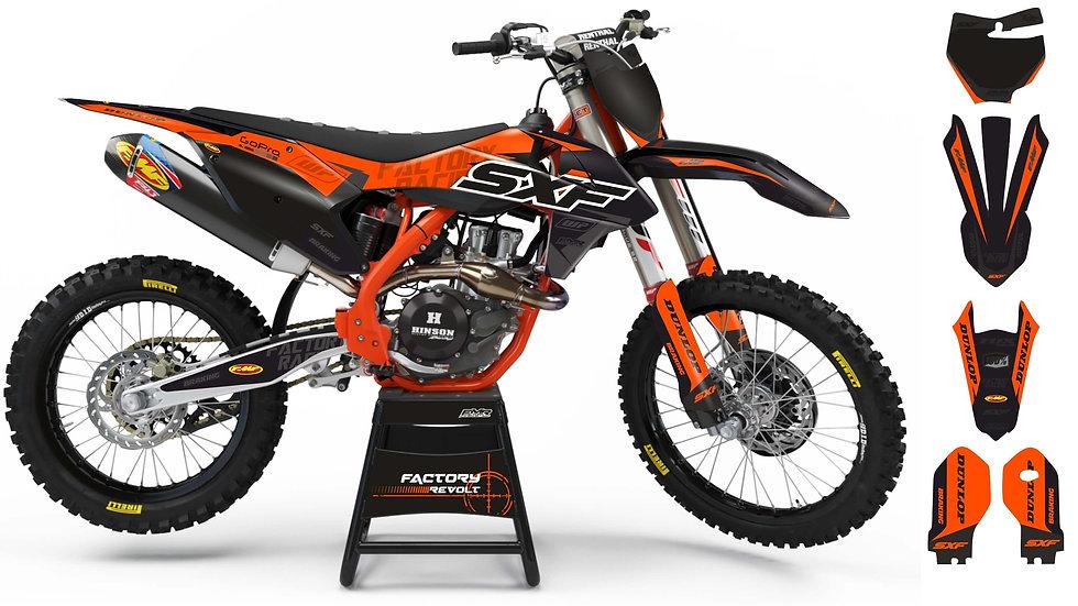 Graphics kits KTM FACTORY REVOLT A26C3