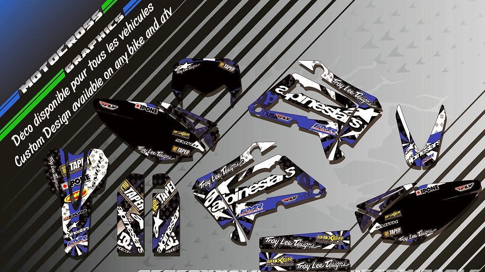 """ALPINESTARS CA4D"" Graphic kit SHERCO SE Series"