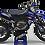 Thumbnail: Custom dirt bike Graphics kit YAMAHA MOTUL BLACK and BLUE