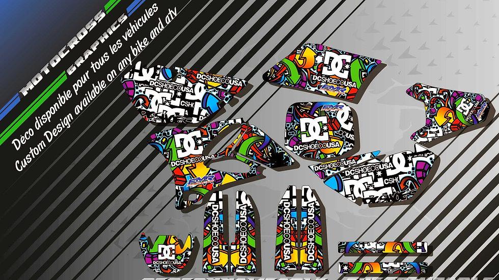 """DC Shoes KA14A"" Kit Déco Perso 85 YZ 01-18"