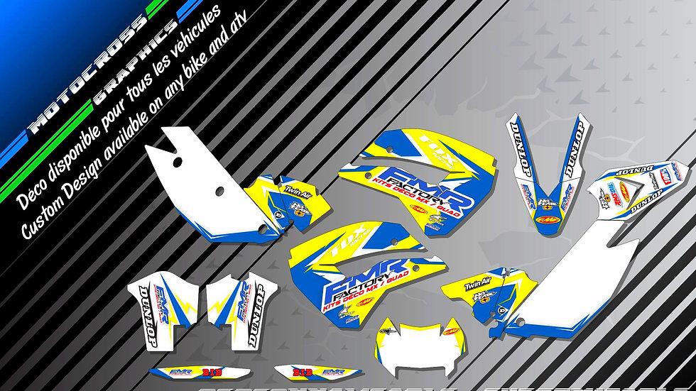 """Fmr Factory CA13D"" Graphic kit HUSABERG FS Series"