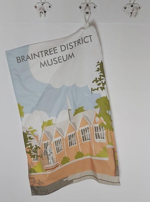 Braintree Museum Tea Towel