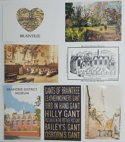 Braintree Postcard Pack