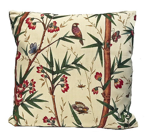 Bamboo & Birds Cushion