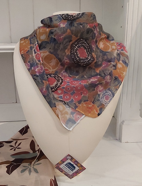 Archive Scarf Square Phlox