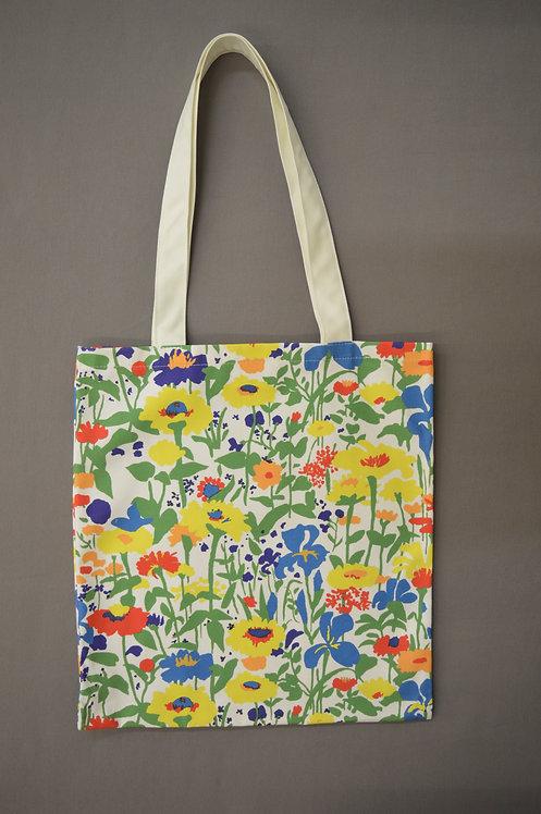 Iris & Lupine Tote Bag