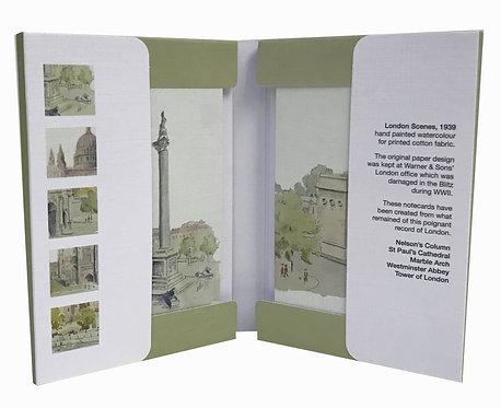 London Scenes Notecard Set - pack of six